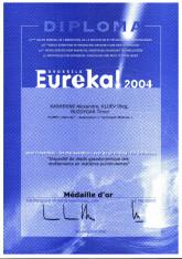 Диплом  EUREKA-2004